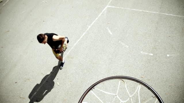 HD SUPER SLOW-MO: Scoring A Basket