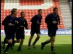 Scotland players training