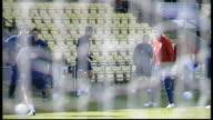 Scotland prepare for Croatia friendly match INT Stephen McManus press conference SOT Scotland players training INT McManus press conference SOT EXT...