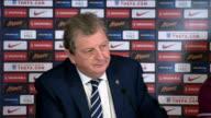 preparations Roy Hodgson and Wayne Rooney press conference Roy Hodgson and Wayne Rooney press conference continued SOT/ press conference ends/