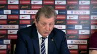 preparations Roy Hodgson and Wayne Rooney press conference SCOTLAND Glasgow INT Roy Hodgson and Wayne Rooney joint press conference SOT