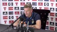 Scotland winger Matt Ritchie speaks ahead of match against Lithuania Video includes press conference and training footage