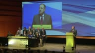 Scotland's ruling Scottish National Party crowns a new leader to build on a surge of support following a defeat in Septembers independence referendum...