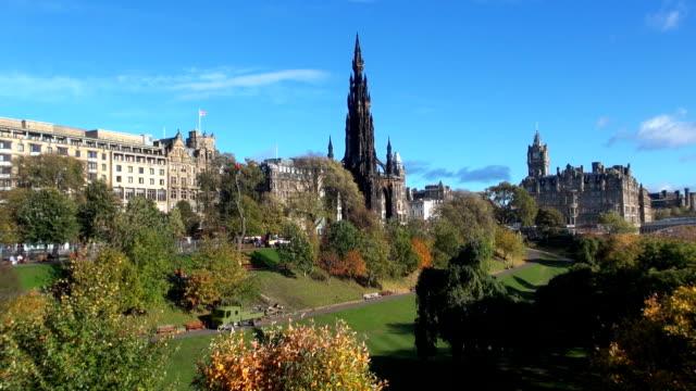 Scott Monument in Edinburgh, Schottland