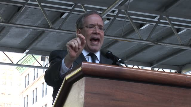 Scott Stringer Manhattan Borough President speaks at Education Rally / United Federation of Teachers' rally and march against education budget cuts /...