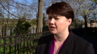 Scottish Conservative leader Ruth Davidson saying her party is the only one in Scotland which will stop an independence referendum taking place