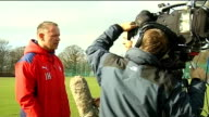 Falkirk v Inverness Caledonian Thistle preview Hughes interview SOT / Hughes speaking to press