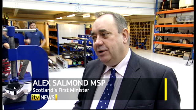 Alex Salmond sets referendum date SCOTLAND Aberdeen Alex Salmond MSP interview SOT The referendum will be decided both its content and its result by...