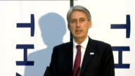 Defence Secretary speech Hammond speech SOT Frankly that is a position in which many of our international partners and allies would like to be but...