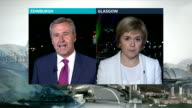 Currency debate SCOTLAND Edinburgh EXT Nicola Sturegon MSP LIVE 2WAY interview from Glasgow SOT