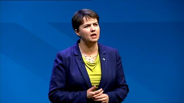 David Cameron speech SCOTLAND Aberdeen INT Ruth Davidson speech SOT