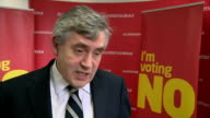 Gordon Brown interview Gordon Brown interview SOT not doing anything other than putting the case people do want change but there is a right kind of...