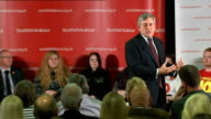 Gordon Brown speech in Loanhead Brown speech SOT