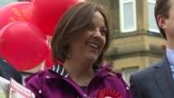 Scottish Labour leader Kezia Dugdale resigns LIB / Edinburgh EXT Various of Kezia Dugdale MSP posing with Labour Party supporters uring election...