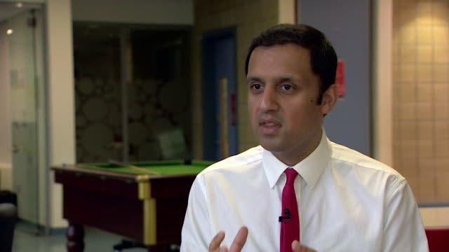 Scottish Labour leadership candidate Anas Sarwar saying he 'does not believe in factions in the Labour party' and that his opponents are the SNP and...
