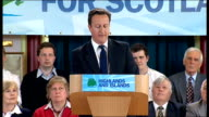 Cameron speech Let them know that while Labour shamefully neglected pensioners the Conservatives have come in restored the earnings link and are...