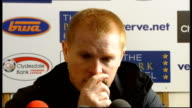 Celtic crowned champions INT Neil Lennon press conference SOT