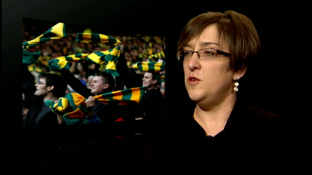 Scottish Premier League to consider requests for standing areas at grounds ENGLAND London INT Amanda Jacks interview SOT There is a clear demand...