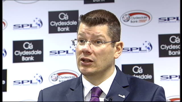 Scottish Premier League to consider requests for standing areas at grounds SCOTLAND INT Neil Doncaster interview SOT Clubs will be able to come...