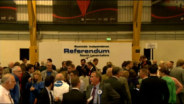 ITV News Special Clean Feed 0400 0500 NORTH LANARKSHIRE Count GVs Total 80302 Yes 35044 No 45192 GLASGOW No suporters cheering ABERDEEN CITY...