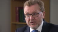 Scottish Secretary of State David Mundell saying 'there could be another independence referendum but we are absolutely focused on the argument that...