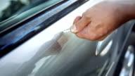 CU TS kratzen Auto mit Schlüssel