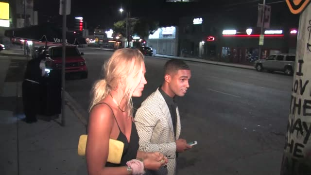 Scream Queens cast leaving Nice Guy Nightclub in Hollywood in Celebrity Sightings in Los Angeles