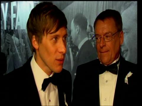Screenwriter Dustin Lance Black on winning Best Screenplay Oscar for Milk at 81st Annual Academy Awards Los Angeles 22 February 2009