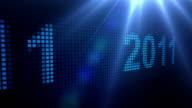 LED Scrolling 2011 - Blue on Black (Full HD)