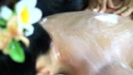 scrub beauty treatment in the health spa