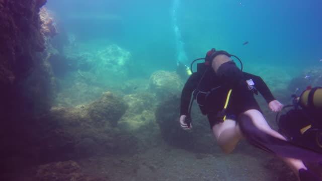 4K Scuba Reef Diving