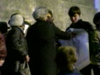 Scuffles break out between demonstrators who want to change the name of Leningrad back to St Petersburg and elderly veterans of the Nazi seige who...