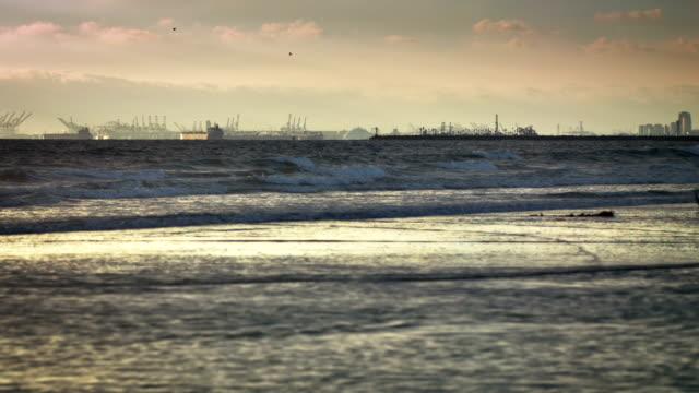 Das Meer und Los Angeles bay