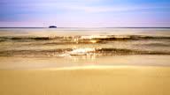 Meer und Sonne Reflexion