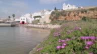 Sea Front & Church, Ferragudo, Algarve, Portugal, Europe