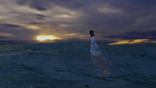 Sea Message in Bottle 1