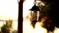 Sea restaurant sunset Lamp