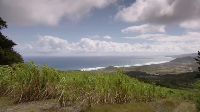 WS TU Sea view from mountain top  / Brightown, Barbados