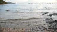 Sea water contains contaminants.