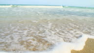 HD SUPER SLOW-MO: Sea Waves On Florida Beach