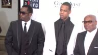 Sean Combs JayZ and LA Reid at the Conde Nast Media Group Presents the 4th Annual 'Black Ball' Concert for 'Keep A Child Alive' arrivals at the...