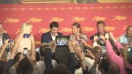 BROLL Sean Penn Charlize Theron Javier Bardem Jean Reno Adele Exarchopoulos Jared Harris Zubin Cooper at 'The Last Face' Press Conference at Grand...