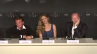 Sean Penn on foreign policy corruption how organizations are affecting the relief work at Haiti Press Conference 65th Cannes Film 2012 on May 18 2012...