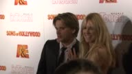 Sean Stewart and Alana Stewart at the 'Sons of Hollywood' Premiere Launch Party at Les Deux in Los Angeles California on March 29 2007