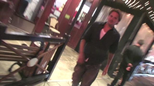 Sean Stewart leaving Jerry's Deli in Los Angeles