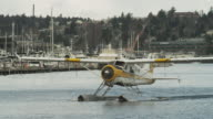 WS TS Seaplane on harbor / Seattle,Washington,USA