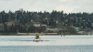 WS Seaplanes on harbor / Seattle, Washington, USA