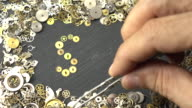 Search Engine Optimization Concept Via uurwerk onderdelen In Time-lapse