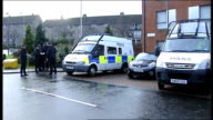 Search for missing boy Mikaeel Kular continues Cordonedoff road outside Kular family home Police officer stand talking in street Police officers...