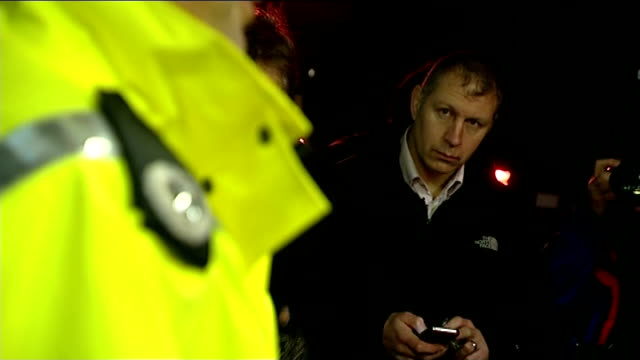 Search for missing boy Mikaeel Kular continues NIGHT Mark WilliamsThomas stands amongst journalists aslistening to police statement Mark...